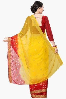 Women Faux Georgette Zari Bordersaree