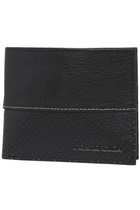 FASTRACK Mens Genuine Leather 1 Fold Wallet