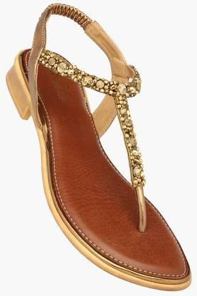 RAW HIDE Womens Casual Slipon Flat Sandal