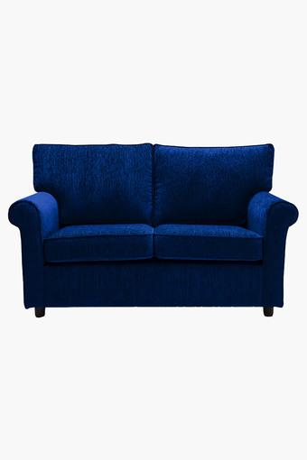 Midnight Blue Fabric Sofa (2 - Seater)