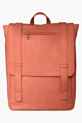 MOHAWKWomens Pu Snap Closure Office Laptop Backpack