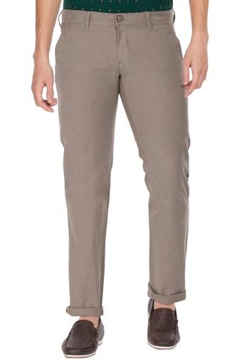 LOUIS PHILIPPE SPORTS -  BrownCargos & Trousers - Main