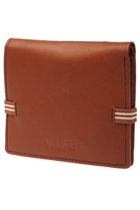 LIFE Mens Genuine Leather Wallet
