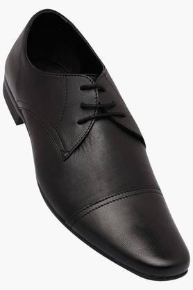 FRANCO LEONE Mens Leather Lace Up Derbys - 202658077