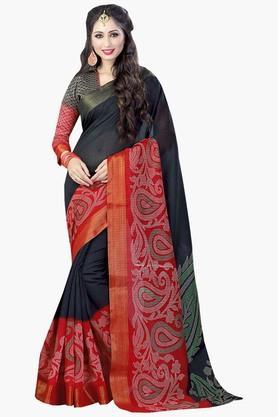 DEMARCAWomens Silk Designer Saree - 202338146
