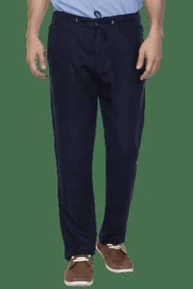 JACK AND JONESMens 4 Pocket Regular Fit Solid Trouser