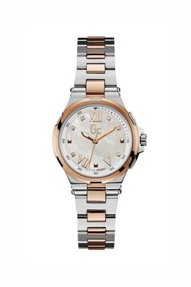Womens Precious Collection Stainless Steel Analogue Watch - Y33104L1