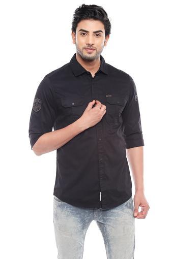 BEING HUMAN -  BlackCasual Shirts - Main