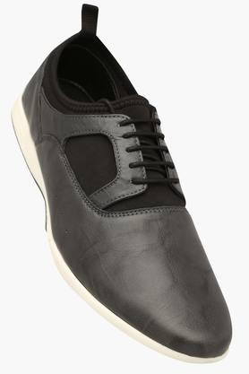 FRANCO LEONE Mens Leather Lace Up Casual Shoe