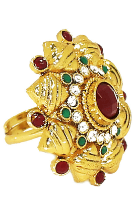 ZAVERI PEARLS Ethnic Diva Traditional Finger Ring By - ZPFK1909