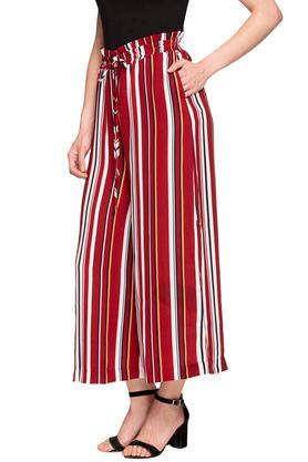 Womens 4 Pocket Striped Pants