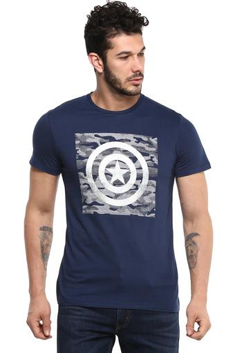 FREE AUTHORITY -  Dark Blue T-shirts - Main