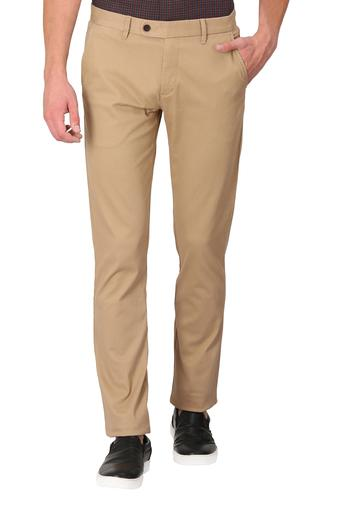 ARROW SPORT -  Khaki Casual Trousers - Main
