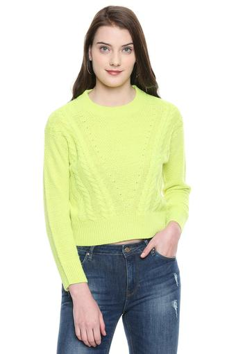 ONLY -  Acid Green Winterwear - Main