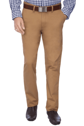 ARROW SPORTMens Flat Front Slim Fit Solid Chinos