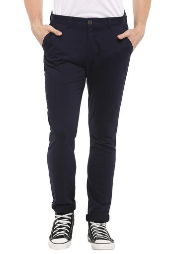 C131 -  Mid Blue Casual Trousers - Main