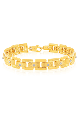 MALABAR GOLD AND DIAMONDS Mens Malabar Gold Bracelet - 201594416