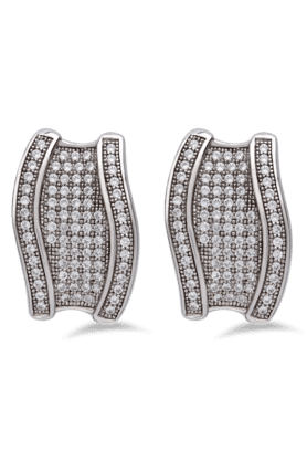 REAL EFFECT Embellished Stud Earrings - 200480469_9999