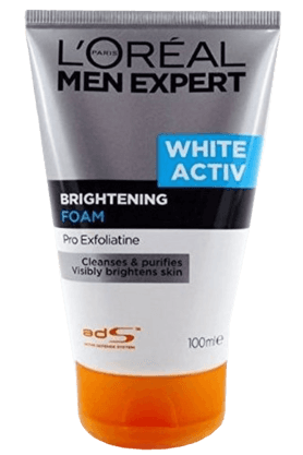 LOREALMen Expert White Active Cleansing Foam