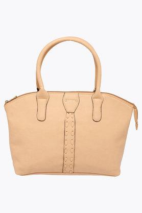 STOP Womens Zipper Closure Tote Handbag - 202324123