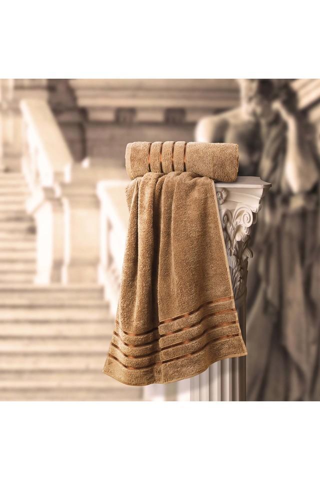 SPREAD - BrownBath Towel - Main