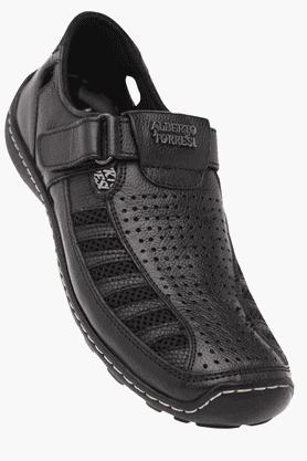 ALBERTO TORRESIMens Velcro Closure Casual Sandal