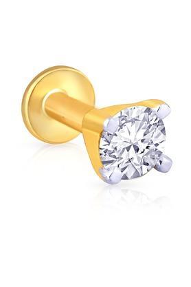 MALABAR GOLD AND DIAMONDSWomens Mine Diamond Nosepin NP51087