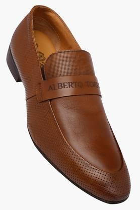 ALBERTO TORRESIMens Leather Slipon Loafers - 202699912