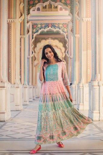 JUNIPER -  PeachIndianwear Dresses - Main