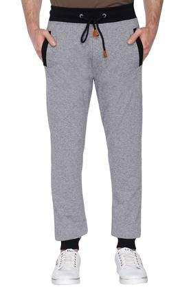 STATUS QUO Mens 3 Pocket Slub Track Pants - 201443771