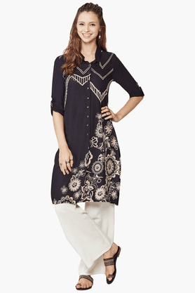 GLOBAL DESI Women's Printed Tunic