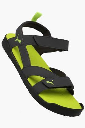PUMAMens Synthetic Velcro Closure Sandals - 202435980_9212
