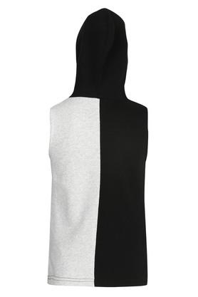 Girls Hooded Neck Printed Top