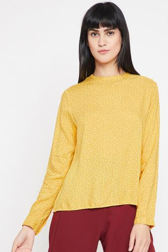MARIE CLAIRE -  Yellow Tops & Tees - Main