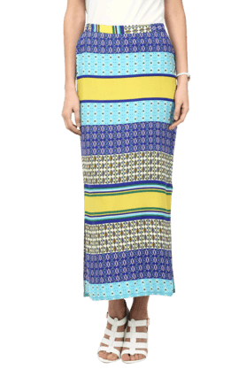 FUSION BEATS Womens Printed Skirt