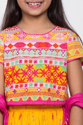 BIBA GIRLS - YellowIndianwear - 4
