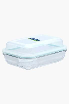 GLASSLOCK Tempered Glass Storage Box With Lid - 350ml