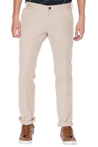 VAN HEUSEN SPORT -  Light KhakiCasual Trousers - Main