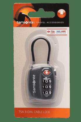 Unisex TSA 3-Dial Cable Lock