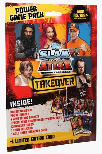 Boys WWE Slam Attack Trading Card Game