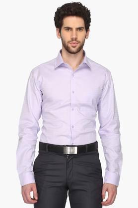 Mens Regular Collar Dotted Shirt