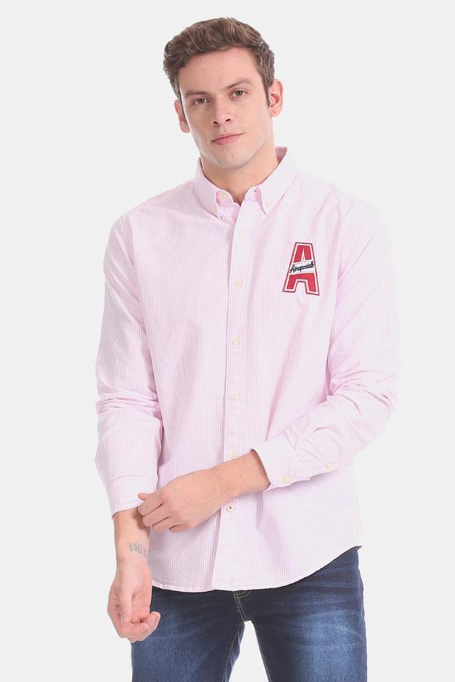 AEROPOSTALE - PinkCasual Shirts - Main