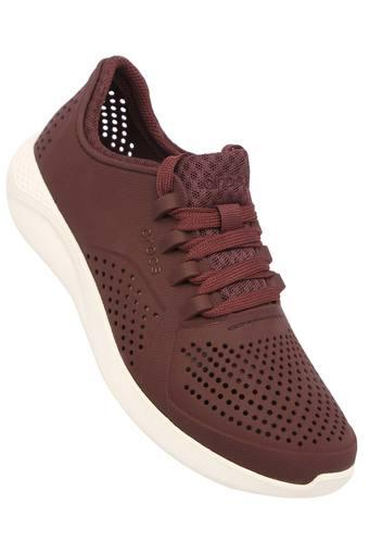 CROCS -  Burgundy Sports Shoes - Main