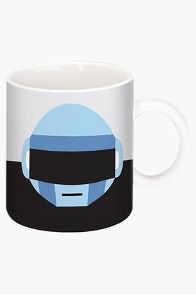 CRUDE AREA Daft Punk Thomas Bangalter Printed Ceramic Coffee Mug By Danny Ivan  ...