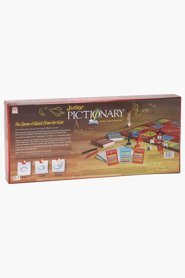 Unisex Junior Pictionary Board Game
