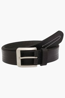 U.S. POLO ASSN. Mens Leather Buckle Closure Casual Belt  ... - 202132324