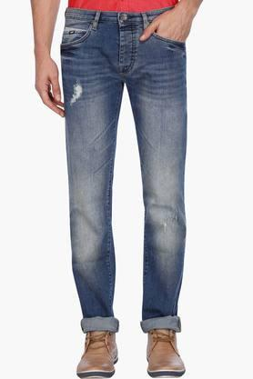 GAS Mens 5 Pocket Stretch Jeans (Mitch Fit)