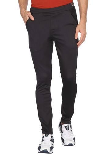 Mens 3 Pocket Check Track Pants