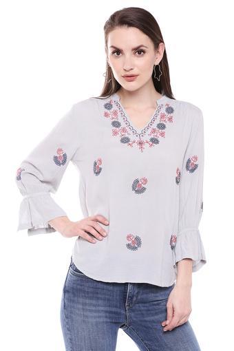 GIPSY -  Light GreyT-Shirts - Main