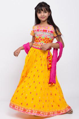 BIBA GIRLS - YellowIndianwear - 2